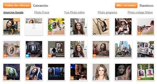 Fotomontajes - PhotoFunia