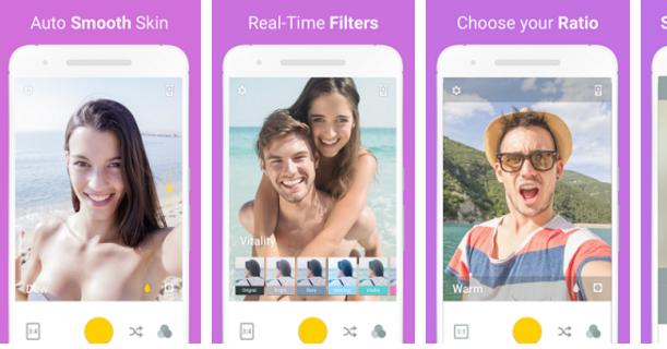 Cámara Selfie – Love Selfie para Android 1