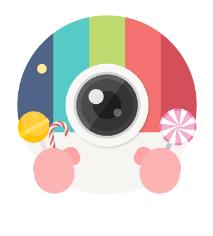 Candy Camera para los mejores selfies