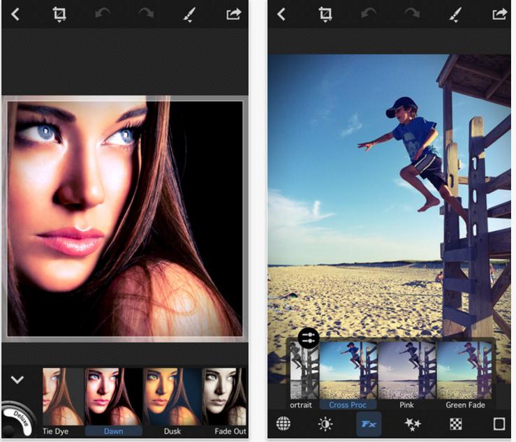 ECP Photo – Editor, filters and effects en tu móvil de Apple
