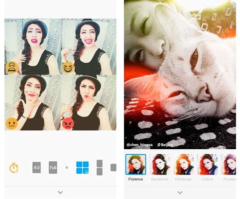 Emoticones y filtros