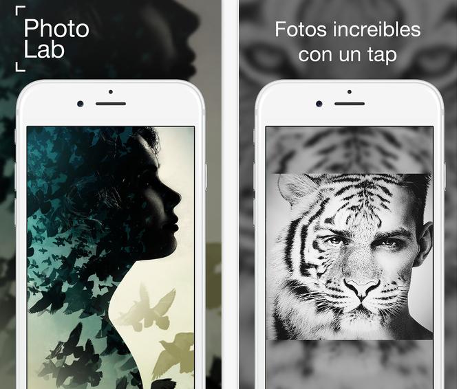 Haz collages con Photo Lab Gratis en tu iPhone 2