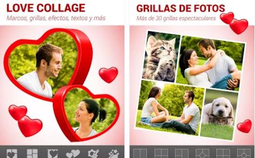 Love Collage – Editor de fotos, para creaciones sorprendentes 1