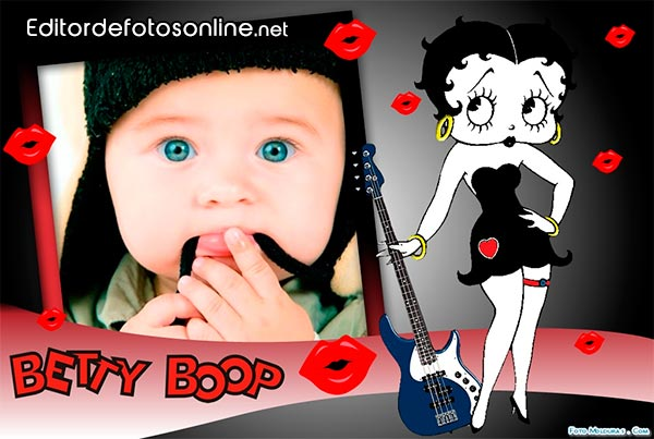 Marco para foto con Betty Boop