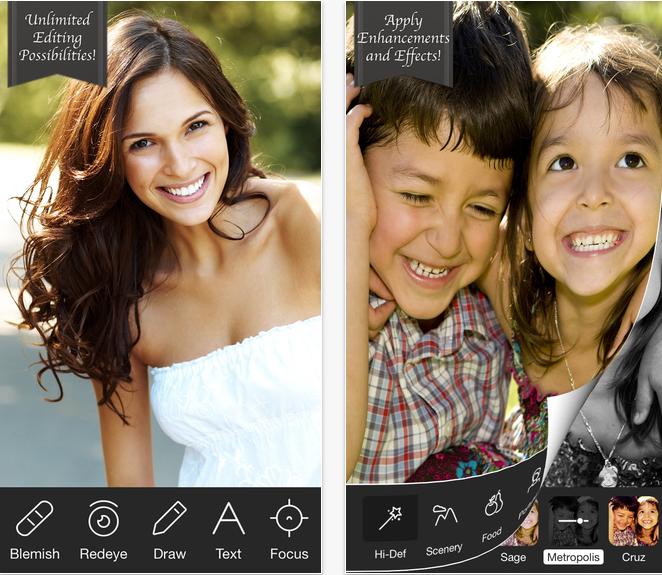 Photo Editor para iPhone 2