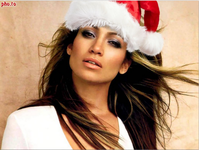 Sombrero de Santa Claus en tus fotografías