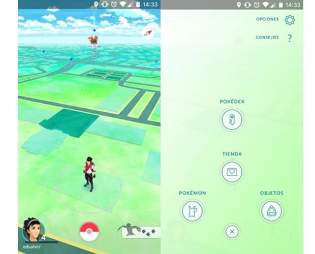Uso de pokemonedas gratis en Pokémon Go 2