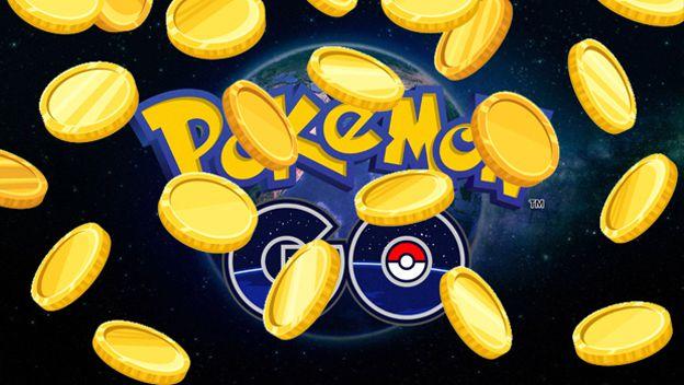 Uso de pokemonedas gratis en Pokémon Go