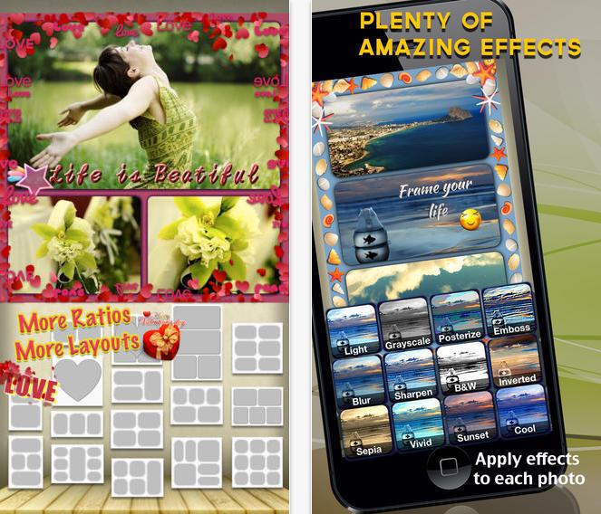 Utiliza Frame UR Life para edición de fotos, collages y todo para tus redes sociales 2