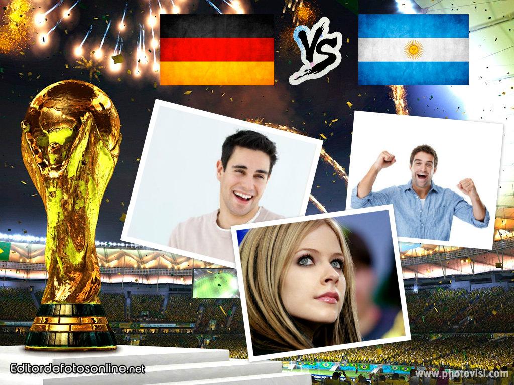 Argentina VS Alemania online gratis