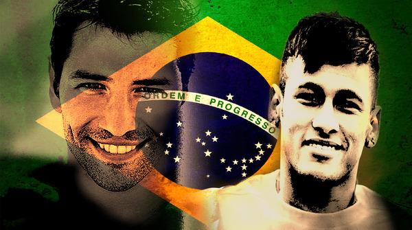 Fotomontaje con Neymar