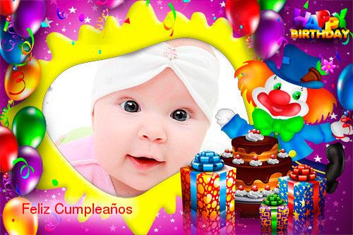 Marcos para fotos de cumpleaños